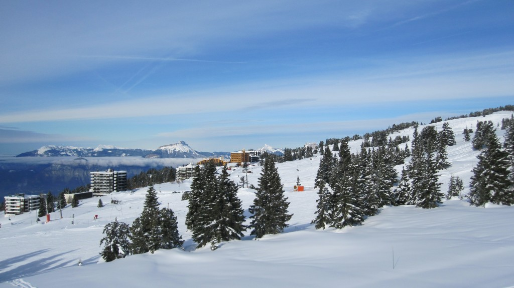 A Postcard from Chamrousse