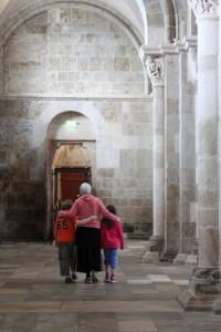 Happy Grandkids in Vezelay