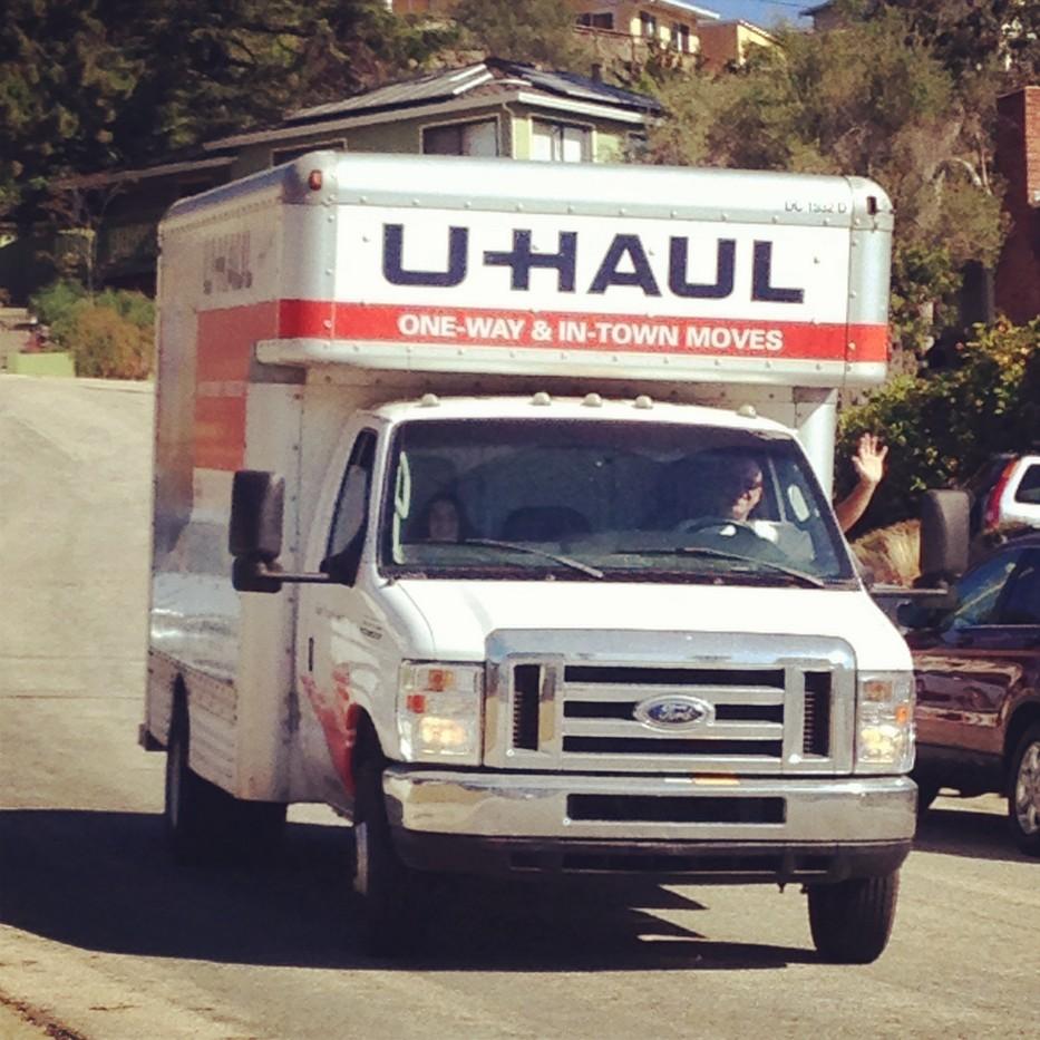 u-haul..and haul...and haul...